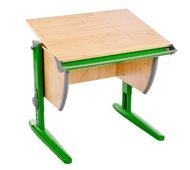 Растущая парта Дэми сут 14 клен/зеленый без стула