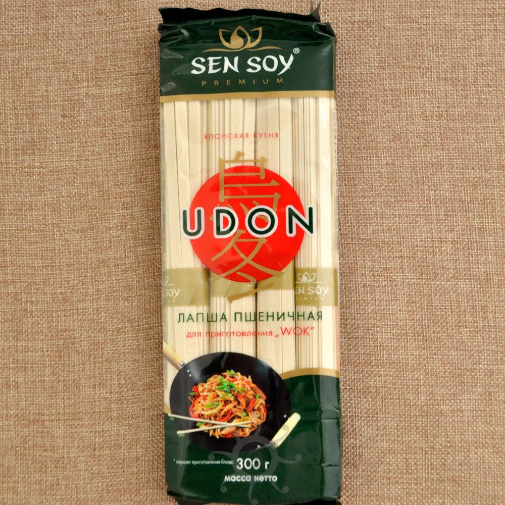 Лапша пшеничная Удон Sen Soy, 300 г