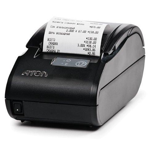 """Фискальный регистратор """"АТОЛ 11Ф"""" Без ФН, ЕНВД. RS+USB черный"""