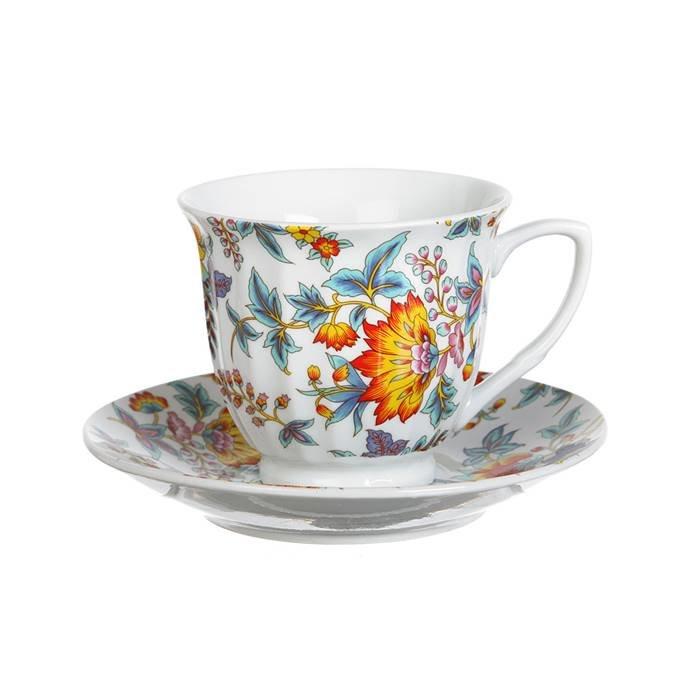 Royal Porcelain Чайный сервиз 724-125 чайный набор на 1 персону 2 пр.200 мл.(кор=36наб.) фарфор