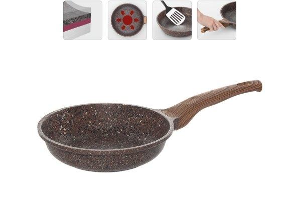 Сковорода NADOBA GRETA с антипригарным покрытием, 20 см