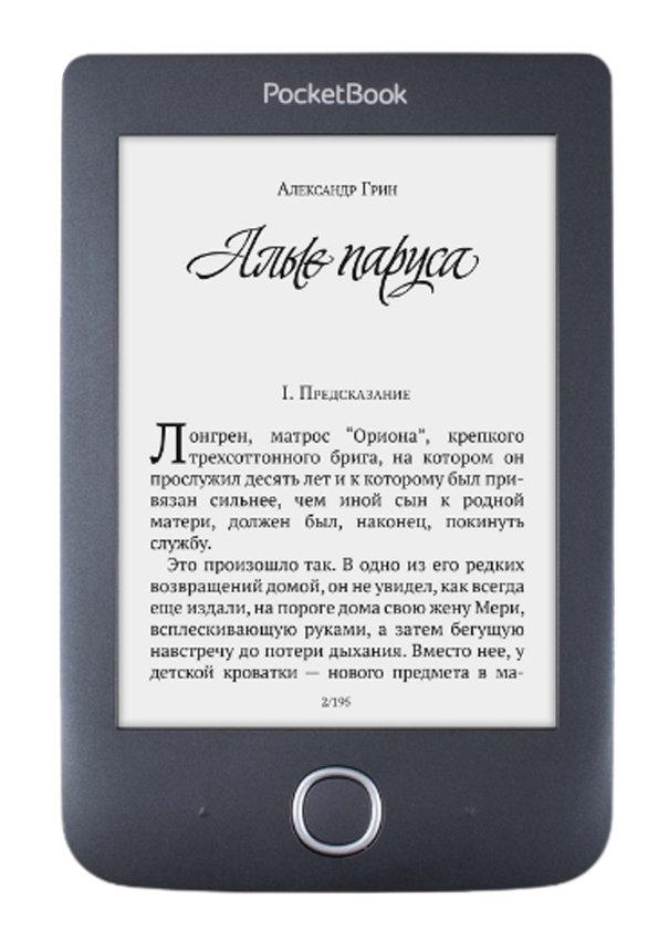 Электронная книга PocketBook 614 Plus + Книги