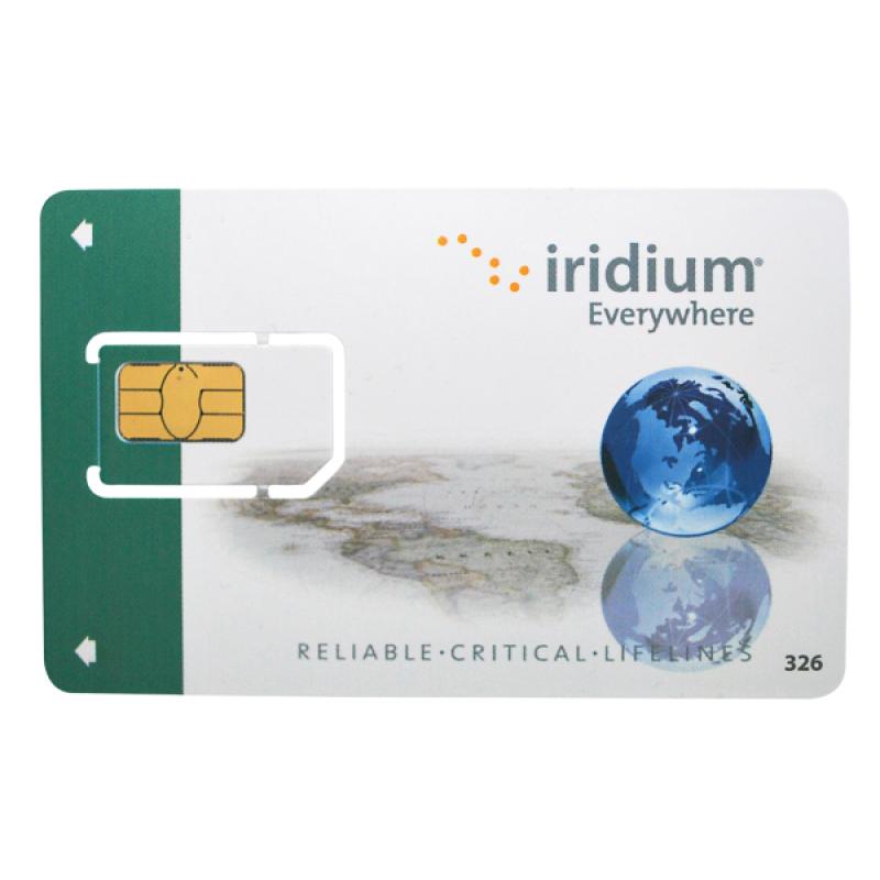 250 минут Российская SIM карта Iridium только РФ