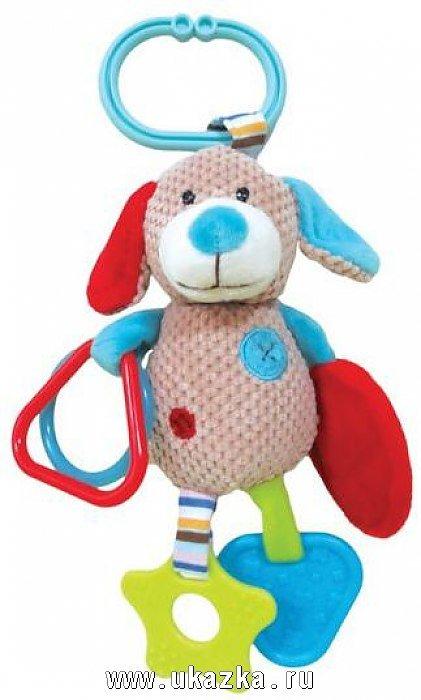 Подвесная игрушка Жирафики Собачка Билли