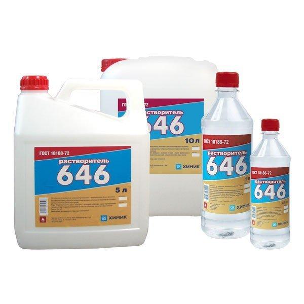 Растворитель 646 (0.5 литра)