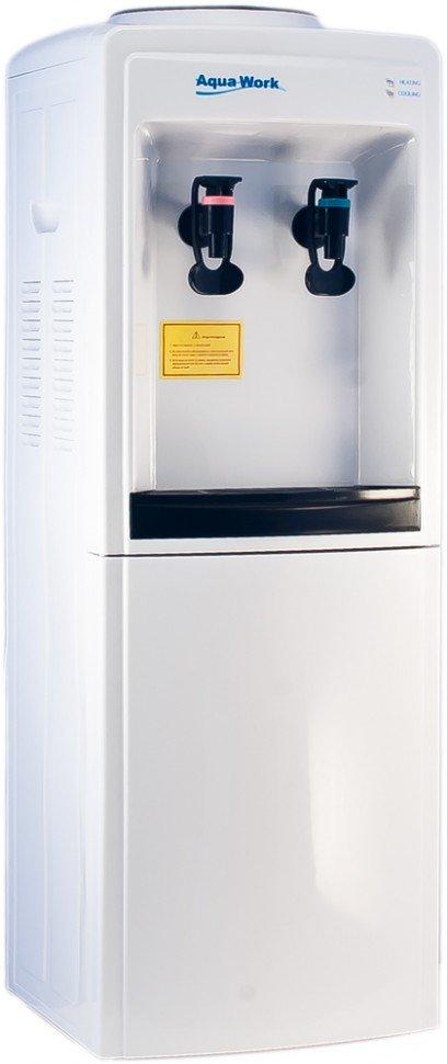 Кулер для воды Aqua Work 0.7-LD/B с нагревом и электронным охлаждением