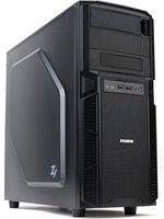 Офисный компьютер BrandStar W1004267. Intel Core i5-8400. Intel H310 mATX. DDR4 4GB PC-17000 2133MHz. 1TB 7200rpm. Встроенная. DVD±RW. Sound HDA 7.1. Zalman Z1 ATX 500W. 500W. Без операционной системы