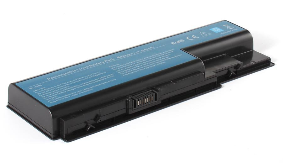 Аккумулятор 11-1140 4400 мАч. Совместим Acer CL1576B.806, .