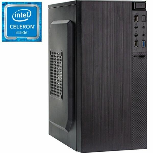 Компьютер PRO-0025890 Intel Celeron J1800 2410МГц, 2Гб DDR3, Intel HD Graphics (встроенная), 350Вт, Mini-Tower