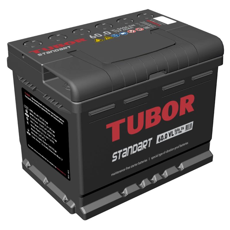 Аккумулятор 60.0 TUBOR STANDART