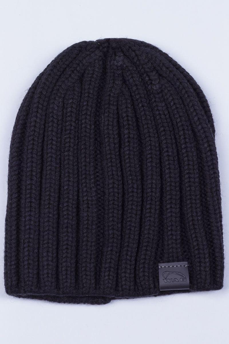 wag 267 t черный шапка мужская