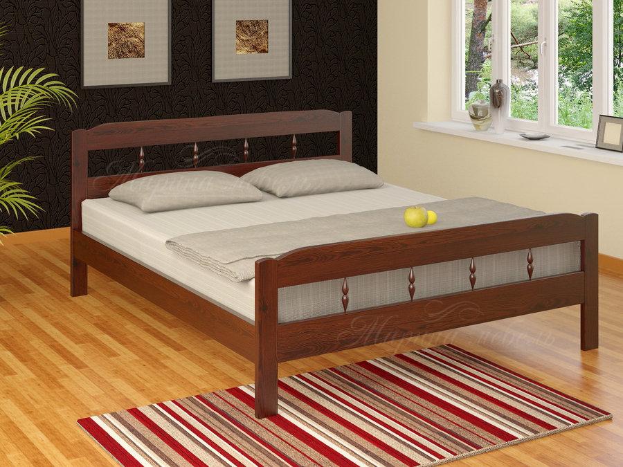 Кровать Дачная двуспальная