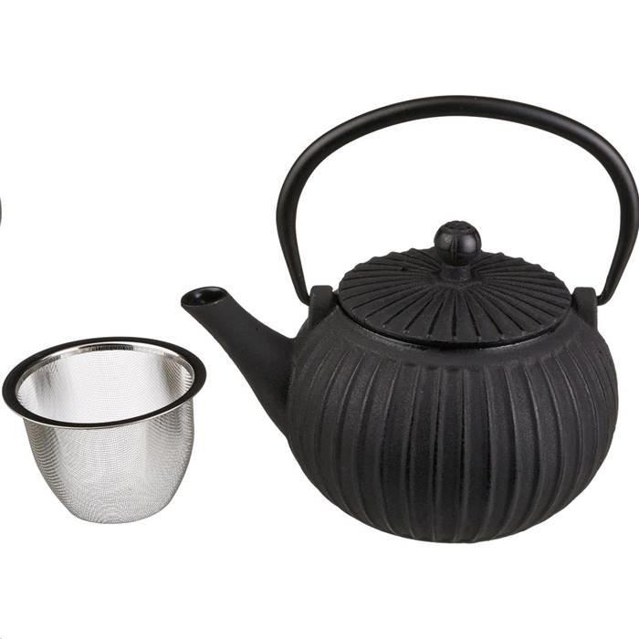 п-да/чай Lefard 734-034 заварочный чайник чугунный с эмалированным покрытием внутри 500 мл. (кор=8шт.)