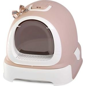 Туалет Makar бокс какао с выдвижным поддоном для кошек 55х42х43 см (МАК102)