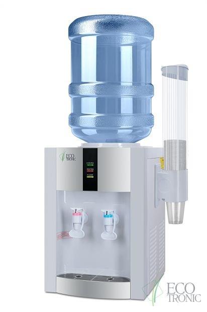 Кулер для воды Ecotronic H1-T White с компрессором