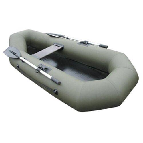 Лодка ПВХ LEADER Компакт-220 гребная (цвет зеленый)