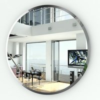Круглое зеркало с фацетом 057Ф диаметр 55 см.