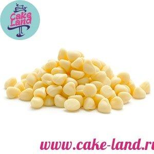 Капли шоколадные Белые 200г Италия