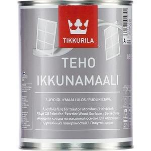 Краска масляная для окон TIKKURILA Teho Ikkunamaali ( Техо ) база А 2.7л.
