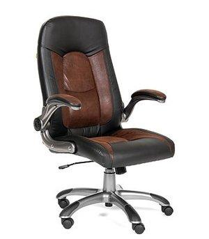 Кресло для руководителя chairman 439 коричневый