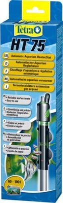 """Терморегулятор """"Tetra HT 75"""" для аквариумов 60-100 л, 75 Bт"""