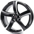 Диск ALUTEC Shark 7.5x17/5x112 D70.1 ET38 Racing Black Front Polished - фото 1