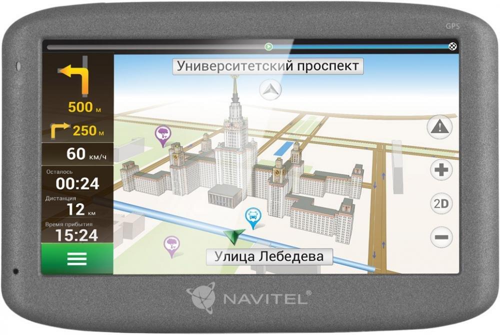 GPS-навигатор Navitel N500 (черный)