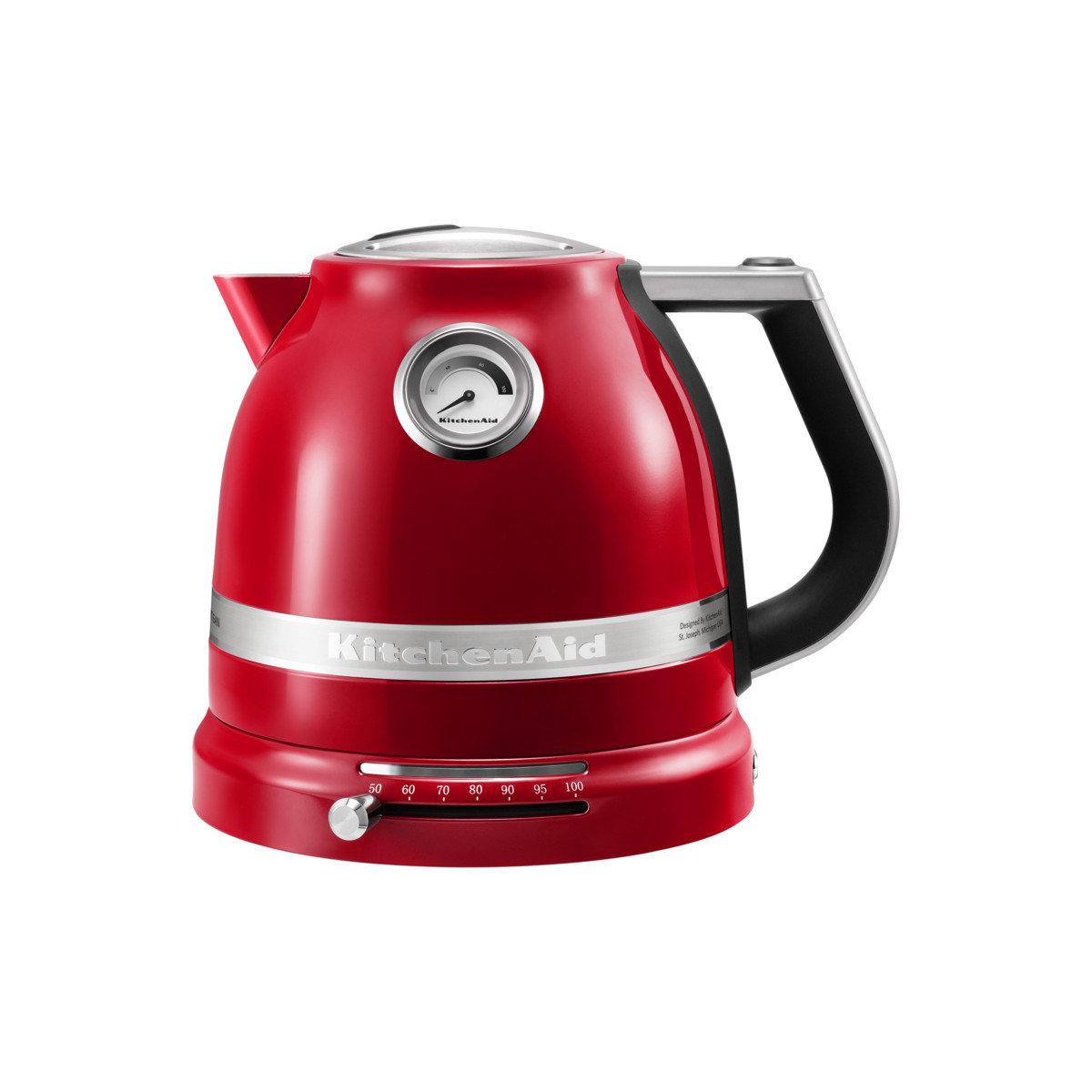Чайник электрический KitchenAid 5KEK1522 красный (5KEK1522EER)
