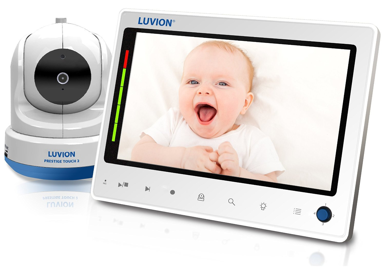 Цифровая видеоняня с поворотной камерой и записью видео Luvion Prestige Touch 2