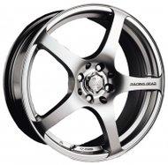 Диски Racing Wheels H-125 6,5x15 5x105 D56.6 ET39 цвет HS/HP - фото 1