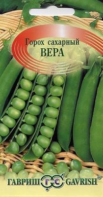 """Семена. Горох """"Вера"""" (10 пакетов по 10 г) (количество товаров в комплекте: 10)"""