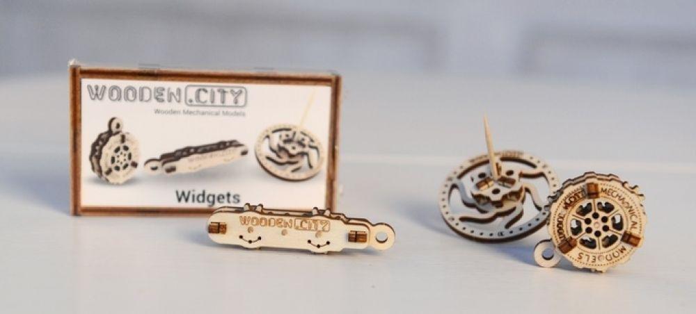 3D-пазл механический Wooden.City Виджеты - WR309
