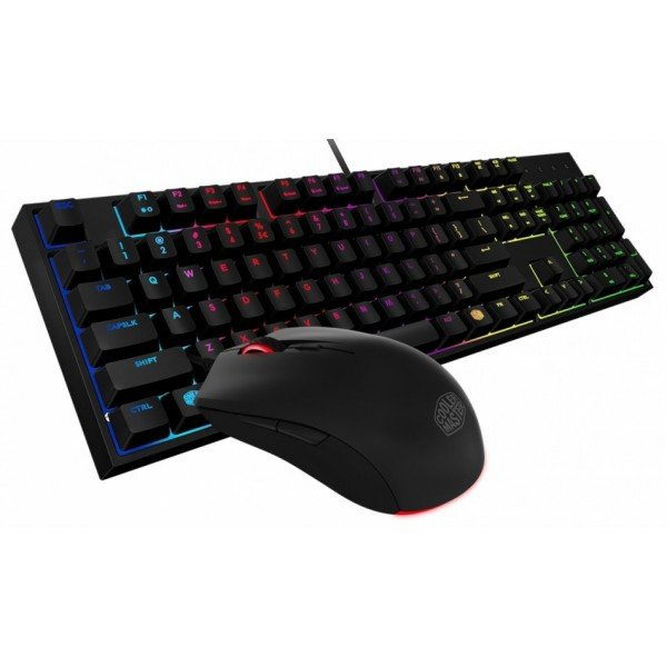 Комплект Cooler Master клавиатура проводная и мышь MasterKeys Lite L Combo Mem-chanical, SGB-3040-KKMF1-RU