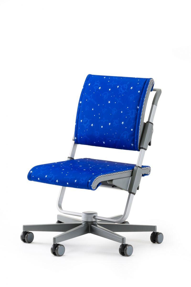 Moll Детский стул SCOOTER Серый подушки для сидения и спинки Galaxy