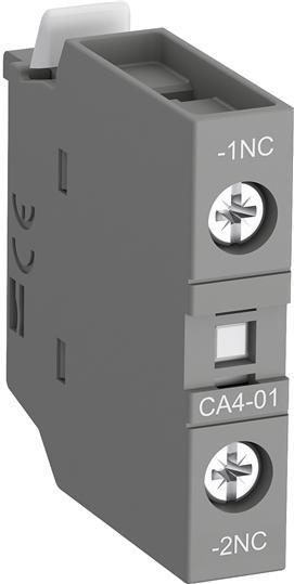 CA4-01 Контакт фронтальный 1Н3 для AF09-AF96 и NF ABB, 1SBN010110R1001
