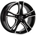 Диск OZ Adrenalina 8x17/5x114,3 ЕТ45 D75 Matt Black + Diamond Cut - фото 1