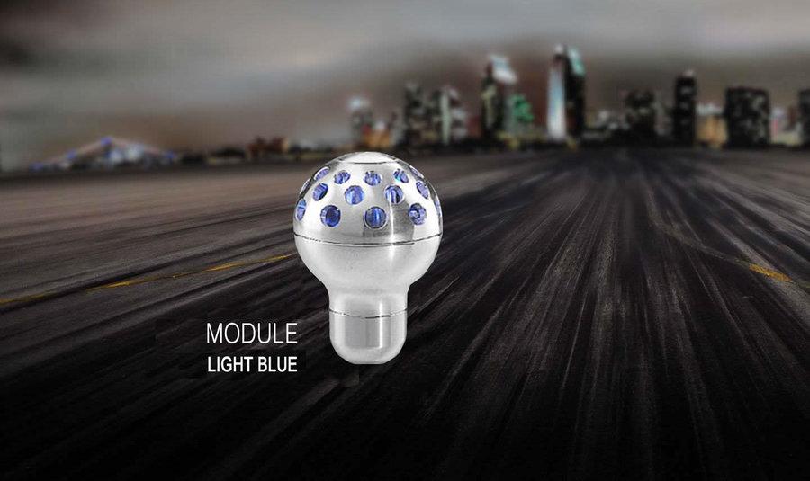 Ручка кпп momo (момо) Module Light Blue