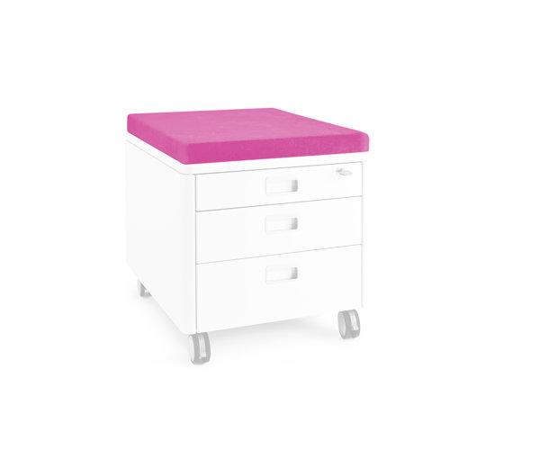Moll Подушка для тумбы PAD S Розовый