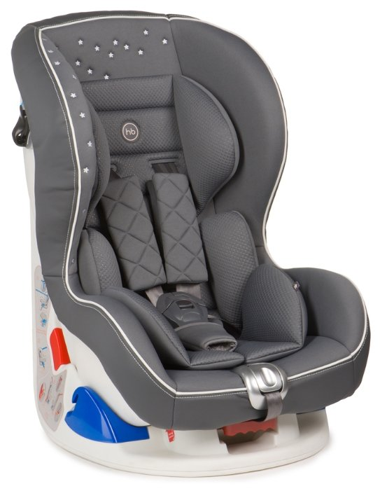 Автокресло группы 0+ (0-18 кг) Happy Baby Taurus V2, grey
