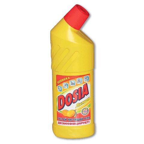 Средство чистящее Dosia Дося 750мл Лимон для сантехники ш/к 02337 (8484)