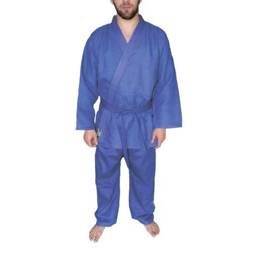 Кимоно для дзюдо Atemi AX7 blue р-р 28-30/130