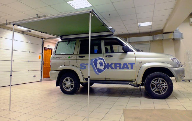 Автомобильный навес (маркиза) СТОКРАТ 2.5х2.0м