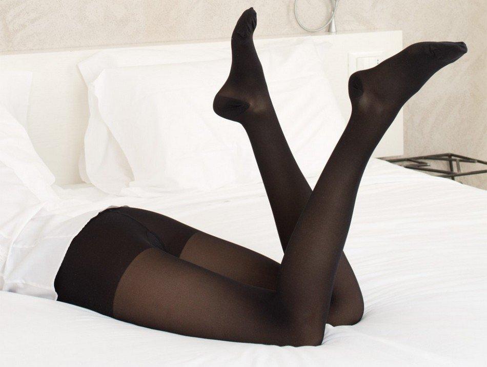 Фото женщина ножки колготки — pic 5