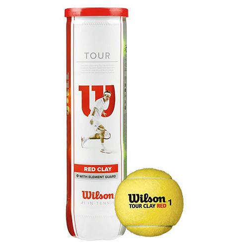 Теннисные мячи Wilson 4B Tour Clay Red