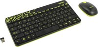 Комплект: клавиатура+мышь LOGITECH Wireless Combo MK240 Nano Black (920-008213)
