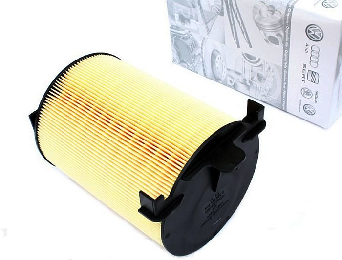 Воздушный фильтр двигателя Ауди, Фольксваген, Шкода, Сеат (арт. 1F0129620) ZI1F0129620