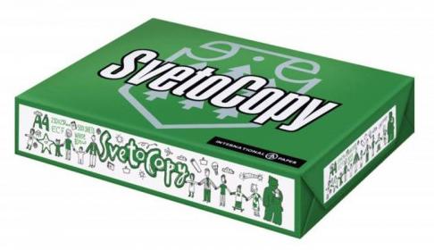 Бумага SvetoCopy, А4. В упаковке 5 шт.