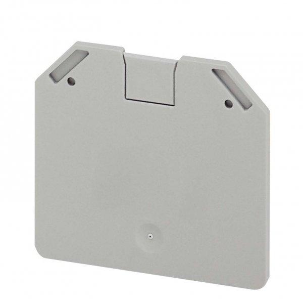 Клеммные соединения Торцевая крышка 2ТЧК, 2,2мм для винтовых клемм NSYTRV162 (серая) Schneider Electric