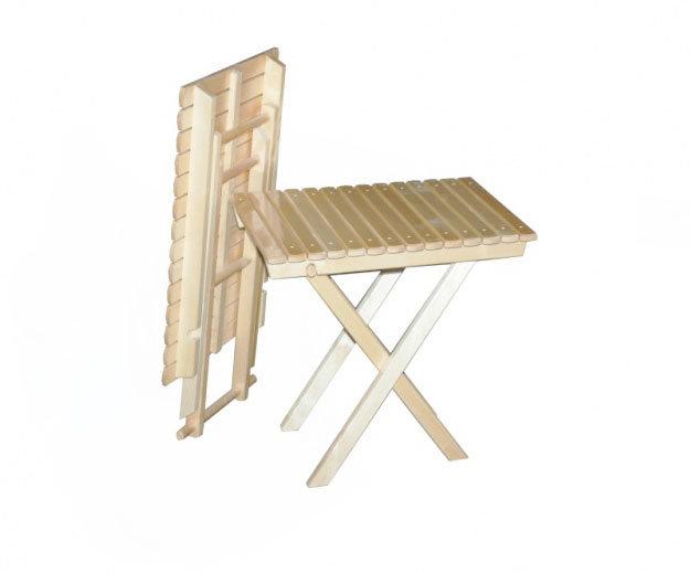 Садовый стол Смка СМ008Б Светлое дерево