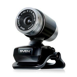 Веб-камера Sven ic-720 black
